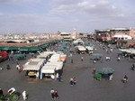 Plaza Jemaa el Fna - Marrakech - Marruecos -